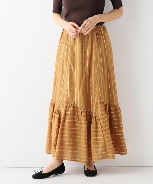 【驚きの値段で】 【SARA MALLIKA/サラマリカ】CTN LUREX LUREX ロングスカート SLOBE◆(スカート)|SLOBE IENA(スローブイエナ)のファッション通販, BOOTSMAN:218e9b96 --- iodseguros.com.br