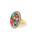 Ray BEAMS(レイビームス)の「Ray BEAMS/ パリ フラワーブーケ リング(リング)」|ホワイト