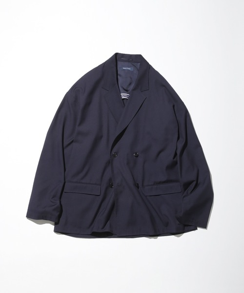 NAUTICA/ノーティカ WOMEN'S Relaxed TR Double Breasted Jacket/TRダブルジャケット