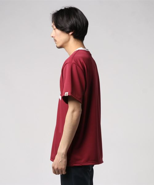 RELAXED V NECK JERSEY TEE M
