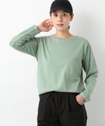 LEPSIM(レプシィム)の【日々アイテム】ムジポケツキロンT 778830(Tシャツ/カットソー)