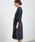 ROPE' PICNIC(ロペピクニック)の「【WEB限定】【着丈が選べる】スタンド衿ドルマンワンピース(ワンピース)」|詳細画像