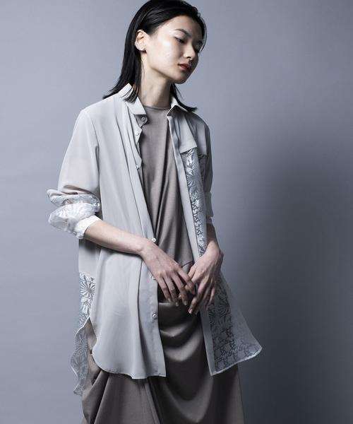 ★日本の職人技★ CUT-GLASS SHIRT/カットグラスシャツ(シャツ/ブラウス)|mintdesigns(ミントデザインズ)のファッション通販, COLORFUL CANDY STYLE:8ffc18d2 --- 5613dcaibao.eu.org