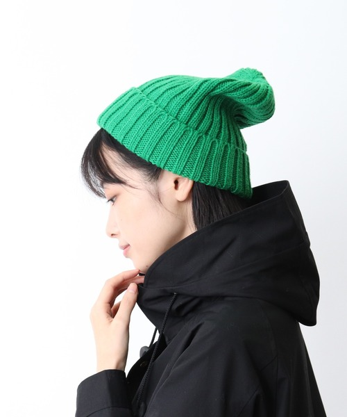 ∴リブ編みニット帽 / RIBBED KNIT WATCH