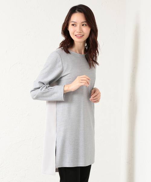 世界的に有名な 【セール】ブロッキングラメジャージロングカットソー(Tシャツ/カットソー)|EVEX by by セール,SALE,EVEX KRIZIA(エヴェックスバイクリツィア)のファッション通販, アスポ:5fcc08a8 --- kredo24.ru