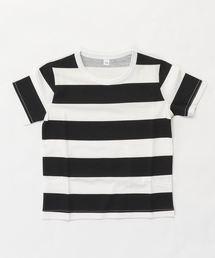 b・ROOM(ビールーム)の【WEB限定】アソート柄半袖Tシャツ(Tシャツ/カットソー)