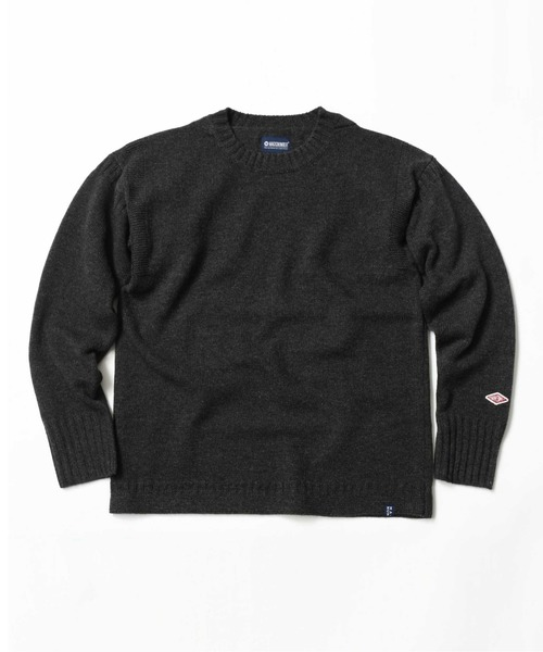 【激安アウトレット!】 LAMBS WOOL GUERNSEY SWEATER, 革職人 LEATHER FACTORY b166faa7