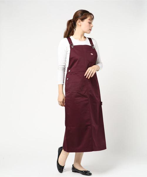 格安SALEスタート! 【DANTON/ DEAL TWILL ダントン】T/C TWILL JUMPER JUMPER DRESS(ジャンパースカート) Danton(ダントン)のファッション通販, ホウライチョウ:f1cef1a0 --- rice.kfz-viole.de