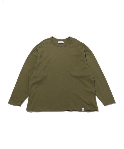 <MAGIC STICK> HALF GAGE LS TEE/TEEシャツ