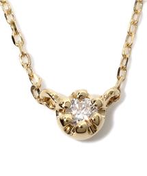 ete(エテ)のK18YGダイヤモンド ダイヤネックレス(ネックレス)
