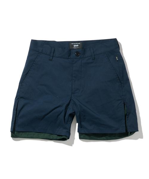 【超安い】 Double/ layered shorts/ layered ダブルレイヤードショーツ(パンツ) shorts|glamb(グラム)のファッション通販, 常陸美装:aa11c75f --- munich-airport-memories.de