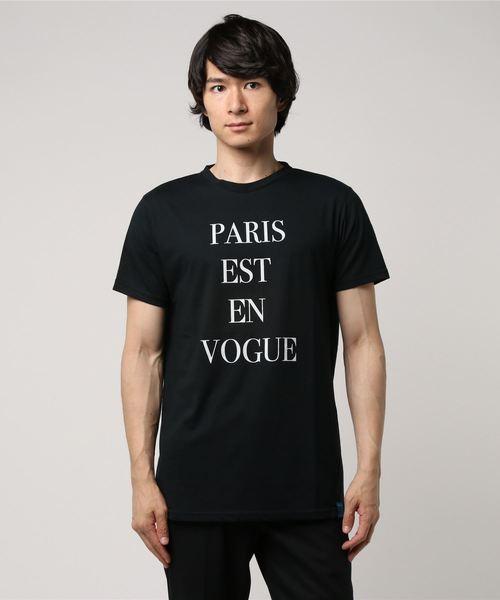 MAISON HONORE(メゾンオノレ)の「EDOUARD/BLACK(Tシャツ/カットソー)」|ブラック