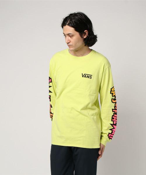VANS ヴァンズ Mutant Sleeve L/S T-Shirt YELLOW