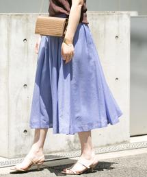 URBAN RESEARCH ROSSO WOMEN(アーバンリサーチ ロッソ)のギャザーミディスカート(スカート)