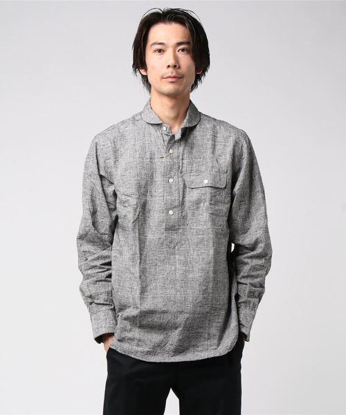 HAVER SACK / ハバーサック 別注 チェックプルオーバーシャツ