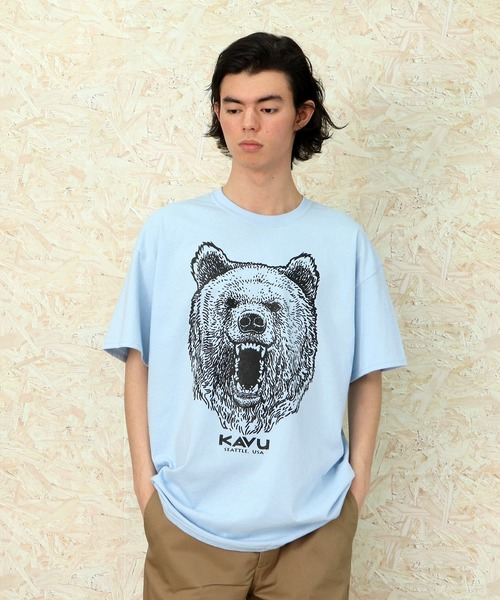 【KAVU/カブー】Grizzly Tee