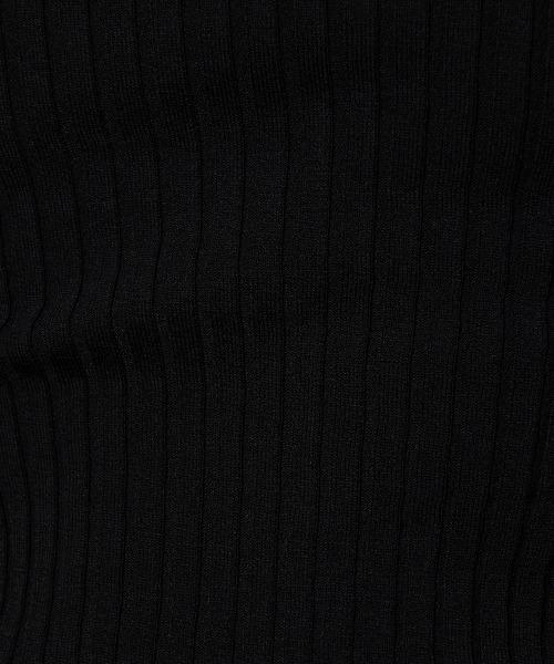 DOUBLE STANDARD CLOTHING(ダブルスタンダードクロージング)の「DSC / レーヨンナイロン ダル糸ニット(PRE)(ニット/セーター)」|詳細画像