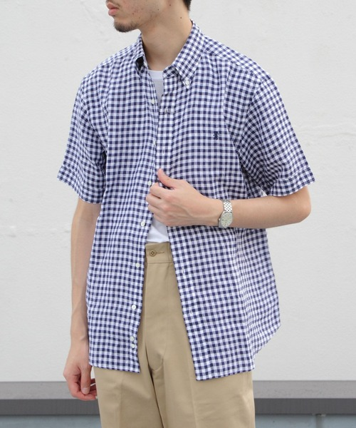 GYMPHLEX / ジムフレックス LINEN CLOTH S/S#J1421
