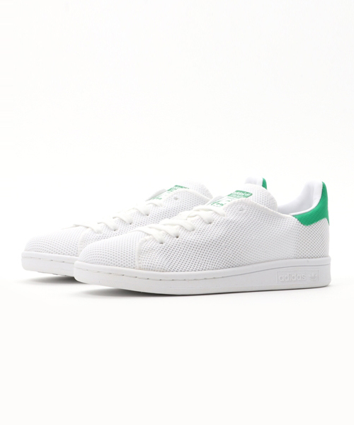 adidas Originals STAN SMITH (RUNNING WHITE/RUNNING WHITE/GREEN) (17SP)