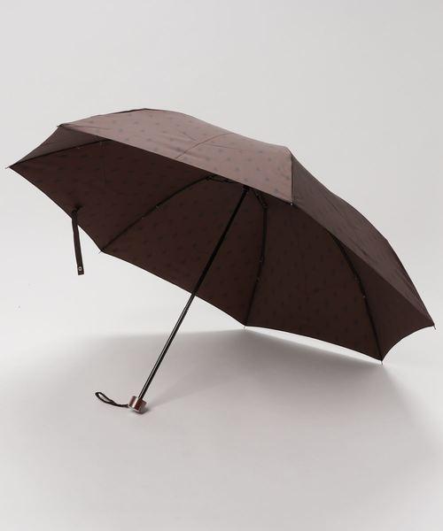 折りたたみ傘 【ポロマークジャガード】