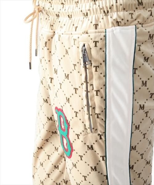 TMT(ティーエムティー)の「【笠松将さん着用】STRECH VELOUR TRACK PANTS(その他パンツ)」|詳細画像