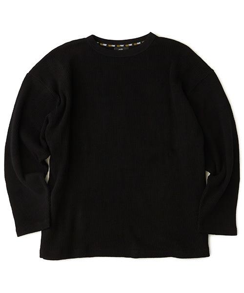 FAT(エフエイティー)の「WARMAL(Tシャツ/カットソー)」|ブラック