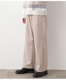 JUNRed(ジュンレッド)の【暖かくなめらかなボトム】エアリーストレッチフラノワイドパンツ(パンツ)