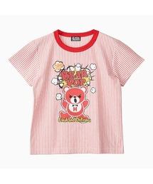 BEAR POP Tシャツレッド
