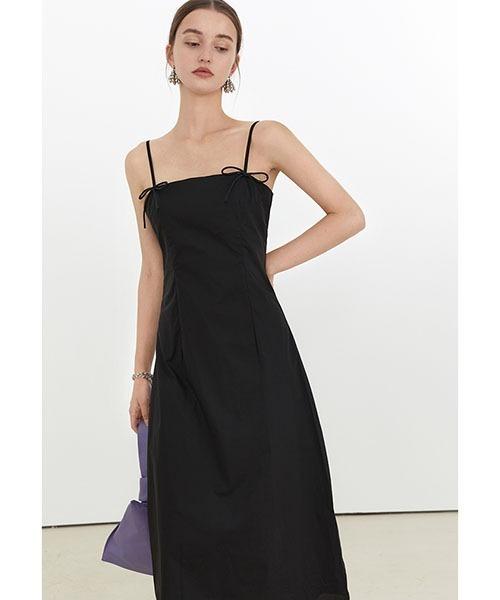【Fano Studios】【2021SS】Ribbon camisole dress FX21L064