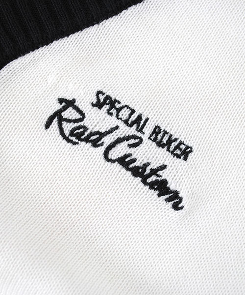 RAD CUSTOM/天竺刺繍入りカーディガン