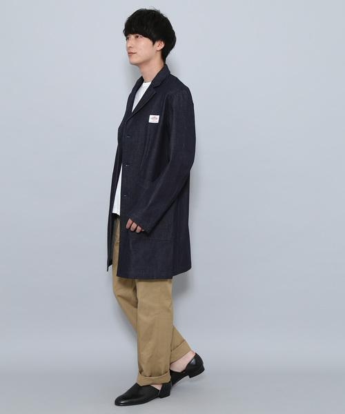 【DANTON uniforme】COVERALL DENIM