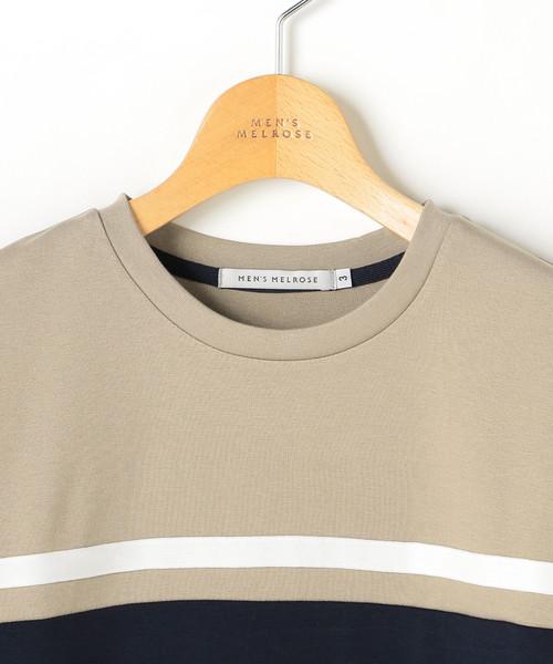RTポンチブロッキングTシャツ
