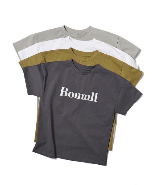 BomullプリントTシャツ