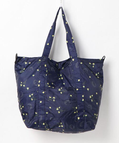 【 nifty colors / ニフティーカラーズ 】Rain 3way eco bag レイン3wayエコバッグ