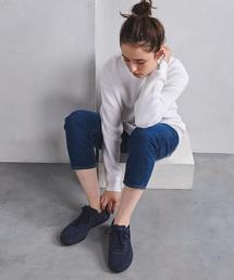 【予約】別注<adidas(アディダス)> SAMBA NAVY WOMENS†