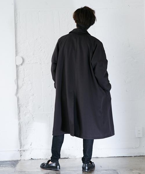 オーバーステンカラーコート