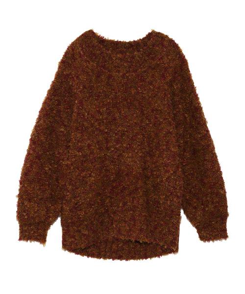 日本最大級 イタリア糸ループヤーンプルオーバー(ニット Brown,リリー/セーター) Lily|Lily Brown(リリーブラウン)のファッション通販, 原宿フリージア:fc40a86f --- steuergraefe.de