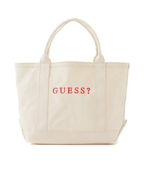 a00fc485a10e Guess(ゲス)のSMALL CANVAS TOTE BAG【JAPAN EXCLUSIVE ITEM】(トート