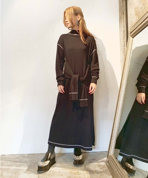 【5%OFF】 WOOL BLEND DOUBLE DOUBLE SLEEVE by SLEEVE DRESS(ワンピース) G.V.G.V.(ジーヴィージーヴィー)のファッション通販, Riche:a688c5e6 --- tsuburaya.azurewebsites.net