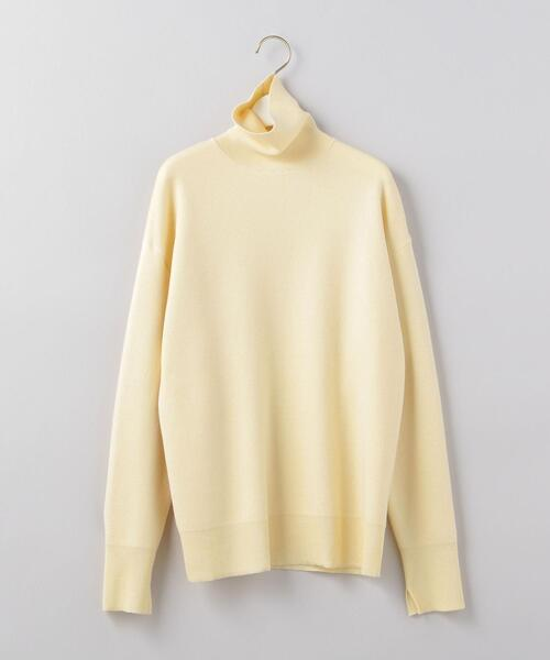 <6(ROKU)>TURTLE NECK KNIT/ニットο