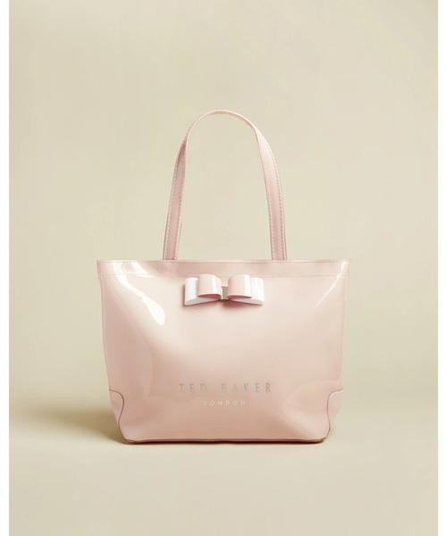 HARICON リボン アイコントートバッグ(Sサイズ) ブラック / グレー / ピンク
