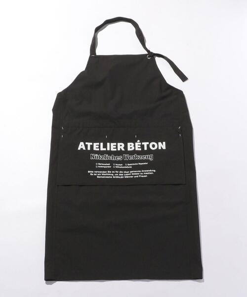 <ATELIER BETON(アトリエべトン)> SHT APRON/エプロン