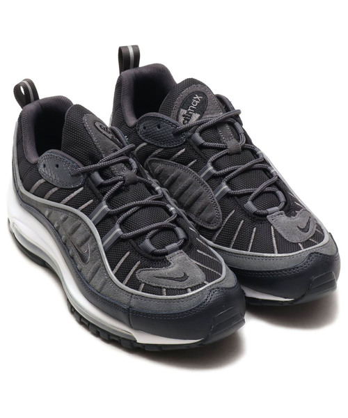 b7b7ebcec329 NIKE AIR MAX 98 SE (BLACK ANTHRACITE-DARK GREY-WHITE) SP ...