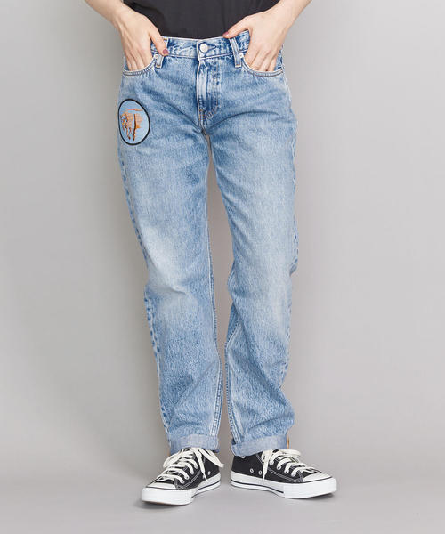 <Calvin Klein Jeans>パッチデニムパンツо