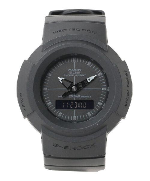 BEAMS(ビームス)の「G-SHOCK / AW-500BB-4EJF/1EJF アナログ ウォッチ(アナログ腕時計)」|ブラック