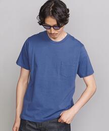 BY STABLE オーガニックコットン 1ポケット Tシャツ