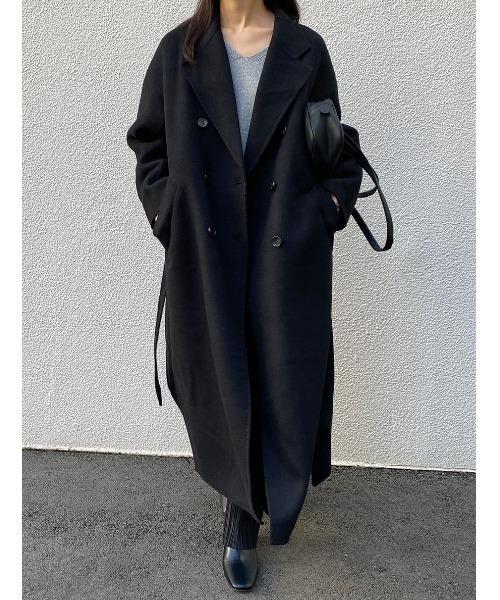 肌触りがいい hand made ラグランウールロングコート(その他アウター) made I-SOOK(アイスー)のファッション通販, 独特の素材:69b66742 --- blog.buypower.ng