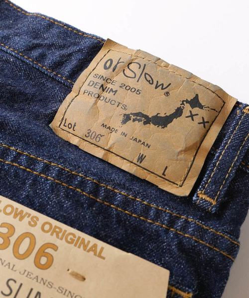 orSlow/オアスロウ PEN SLIM/ペンスリム