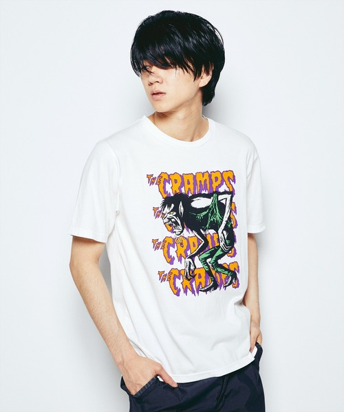 THE CRAMPS/HUNGRY pt Tシャツ