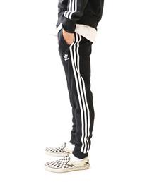adidas(アディダス)の【adidas/アディダス】3ライントラックスポーツパンツ /スキニージャージパンツ(パンツ)